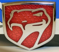 1992 - 2002 Dodge Viper Rear Trunk Medallion in Red - 0JW40M1R