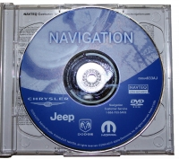 2010 Chrysler Dodge Jeep RB1 Navigation Update Disc - 05064033AJ
