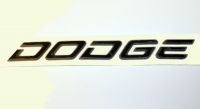 000; 2002 Dodge Viper Graphite Rear Fascia Dodge Emblem Decal - 0GC54ZDR