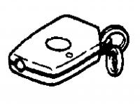 1997 - 2000 Dodge Viper EXPORT Key Fob Transmitter - 04848151