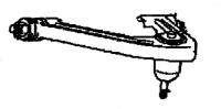 1996 - 2002 Dodge Viper Left Front Upper Control Arm - 04709292