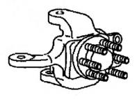 009; 96 - 00 Dodge Viper Left Front Knuckle - 04709303