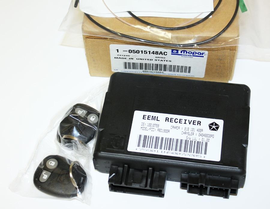 008 1996 2002 Dodge Viper Keyless Entry Alarm Module W