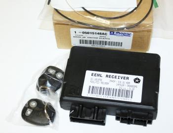 008; 1996 - 2002 Dodge Viper Keyless Entry Alarm Module w/Key Fobs -  05015148AC