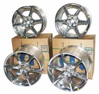 Dodge Viper New OEM Six Spoke Wheel Set