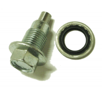 009; 1997 - 2002 Dodge Viper Oil Pan Drain Plug & O-Ring - 04763738 04763739