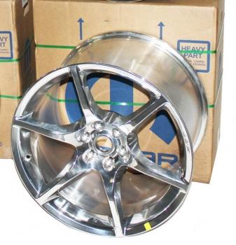 000; 2003 - 2010 Dodge Viper Rear 6-Spoke Wheel - 05181466AA