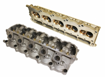 000; 1996 - 2001 Dodge Viper GTS-R PAIR CNC-Ported Cylinder Heads - P4876838AB