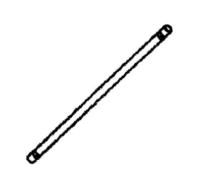 1996 - 2002 Dodge Viper Push Rod - 04848548AC
