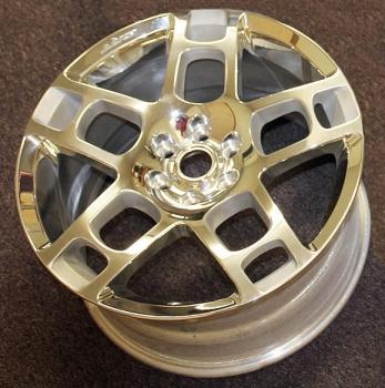 000; 2003 - 2010 Dodge Viper Front H-Spoke Wheel - 05290863AA