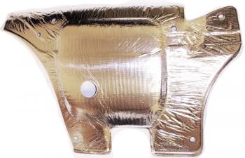 000; 1996 - 2002 Dodge Viper Left Hood Heat Shield - 04848025AB