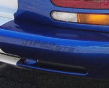000; 1996 - 1997 Dodge Viper GTS Blue Rear VIPER Emblem - 0MB59SBB