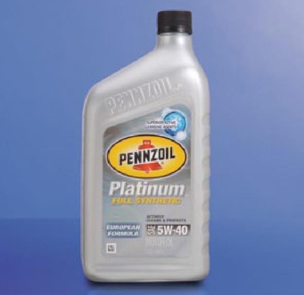 000 pennzoil sae 5w 40 platinum european formula full for Pennzoil ultra platinum 0w 40 motor oil