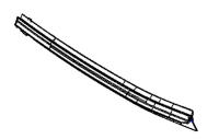 000; 1996 - 2002 Dodge Viper Right Outer Door Glass Weatherstrip - 04763882AE