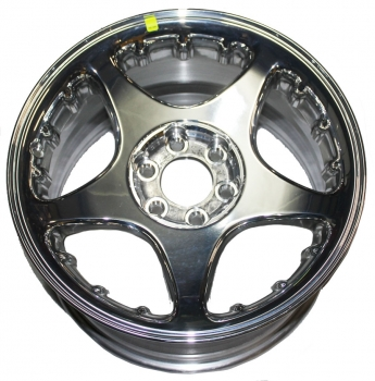 000; 1997 - 1998 Dodge Viper Front Polished Aluminum Wheel - 0QV40SZ2AA