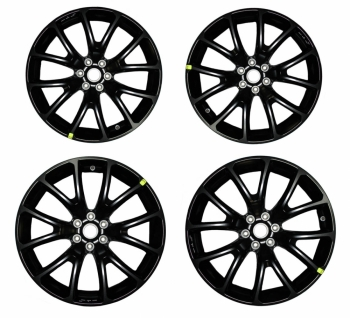 001; 2013 SRT Viper GTS Venom Matte Black Aluminum Wheel REAR 1TZ83RXFAA