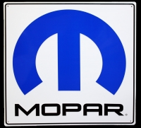 "000; Mopar Painted Metal Sign - Very Large 30"" x 30"" - A68660042N"