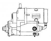 000; 1992 - 2002 Dodge Viper Starter - 5037199AB