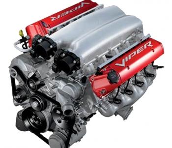 000; 2010 Dodge Viper Gen 4 ACR-X Crate Engine - 638 HP+