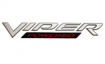 000; 2004 - 2006 Dodge Ram SRT10 Viper Powered Emblem - 05029627AA