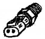 000; 1992 - 2002 Dodge Viper Ambient Air Intake Temperature Sensor - 05227805