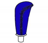 1992 - 1998 Dodge Viper Blue Shift Knob - 0HD42SB4