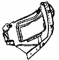 2003 - 2010 Viper SRT10 Left Headlamp Support Bracket