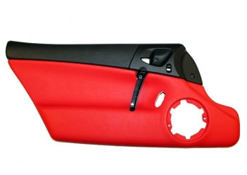 009; 2003 - 2010 Viper SRT10 Left Interior Door Panel in Red - 0XC871XRAC  Dodge MAMBA