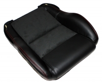 000; 2003 - 2010 Dodge Viper SRT10 Seat Base with Red Stitching - 1HX571XRAA
