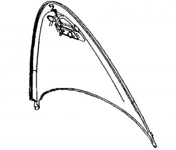 1997 - 2002 Chrysler Plymouth Prowler Hood - 04874314