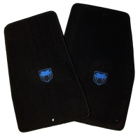 008; 2003 - 2010 Dodge Viper SRT10 Floor Mats w/ Blue Logos - 05030449AA