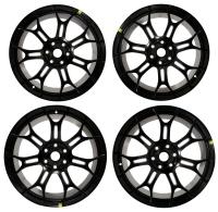006; 2013 SRT Viper Sidewinder II Ultra Lightweight Track Wheel in Matte Black FRONT 1WR19RXFAA