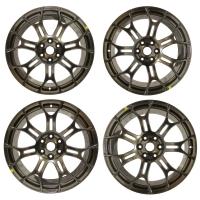 008; 2013 SRT Viper Sidewinder II Ultra Lightweight Track Wheel  in Hyper Black REAR 1WR18JXYAA