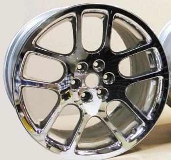 000; 2003 - 2006 Dodge Viper OEM 10-Spoke USED Rear Wheel - 0TW89XZAAA