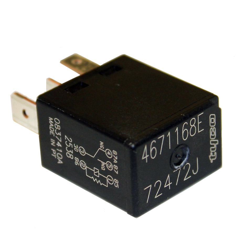 009; 1992 - 2010 Dodge Viper Electrical Relay - 04671168