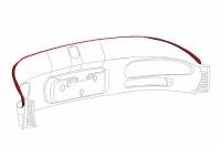 1996 - 2002 Dodge Viper GTS Roof to Rear Closure Panel Isolator - 04763881
