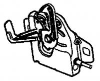 009; 2003 - 2010 Dodge Viper SRT10 Hood Latch - 04865827AC