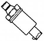 000; 1992 - 2002 Dodge Viper Oil Pressure Sending Unit - 56026779AB