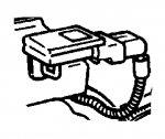 000; 1992 - 1996 Dodge Viper RT/10 MAP Sensor - 56026770