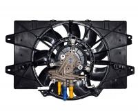 009; 2003 - 2006 Dodge Viper SRT10 Radiator Fan Module - 05290099AD