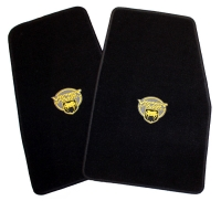 009;2003 - 2010 Dodge Viper SRT10 Floor Mats w/ Yellow VCA Logos 5030134AA