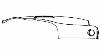 005; 2003 - 2010 Dodge Viper SRT10 Upper Instrument Panel & Pad in GRAY - 0TS33DX9AD
