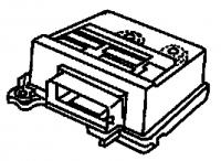 000; 1997 - 2002 Dodge ViperAir Bag Control Module - 04848802AE