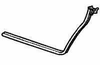 005; 2003 - 2010 Dodge Viper SRT10 Roadster Left Door Opening Weatherstrip - 04865563AG