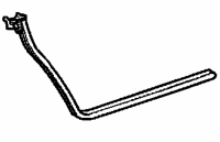 000; 2003 - 2010 Dodge Viper SRT10 Roadster Right Door Opening Weatherstrip - 04865562AG