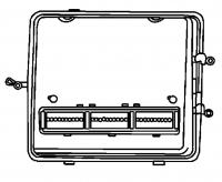 000; 2001 Dodge Viper Engine Controller Module - 04865667AG