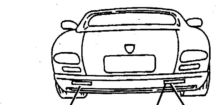 2002 Dodge Viper Yellow Viper Gts Rear Fascia Nameplate on Dark Blue Dodge Ram Truck