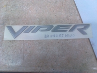 "009; 2003 2004 2005 DODGE VIPER ""VIPER"" EMBLEM/DECAL SILVER 0WN73VADAB"