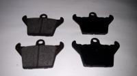 007; 2003 - 2010 Dodge Viper SRT10 Complete Parking Brake Pad Kit -aftermarket 05093307AA