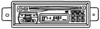1997 - 2002 Dodge Viper Alpine Stereo AM/FM with CD